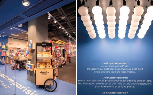 LE DRUGSTORE PARISIEN / AGENCE VERSIONS / JANUS DU COMMERCE